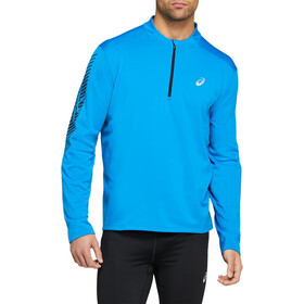 asics Icon LS 1/2 Winter Zip Top Men directoire blue/performance black